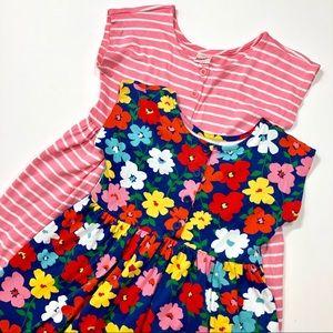 Hanna Andersson Girls 120cm Dress Bundle